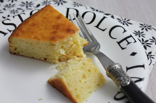 Gâteau sarde à la ricotta et au citron vert