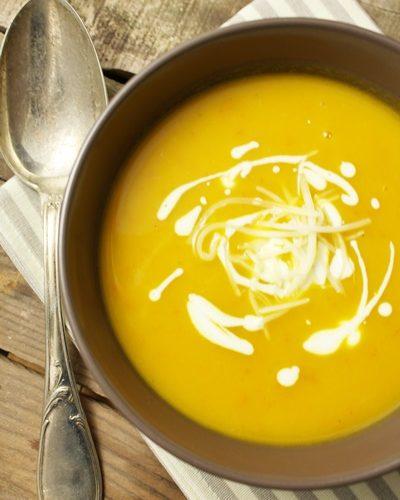 Potage potiron-carotte