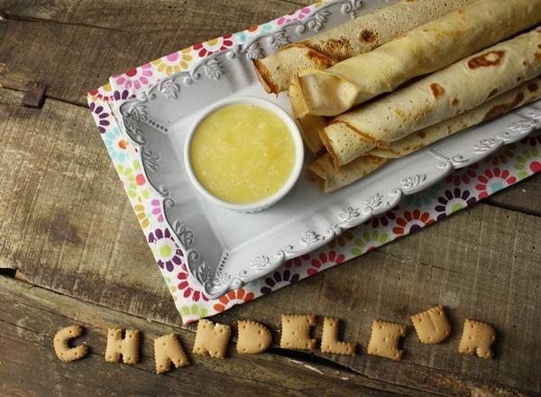 Chandeleur: Crêpes à la farine d'épeautre et lemon curd