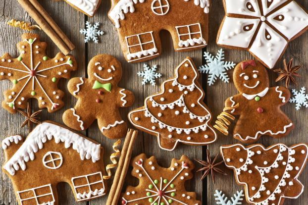 Petits bonhommes de Noël en pain d'épices