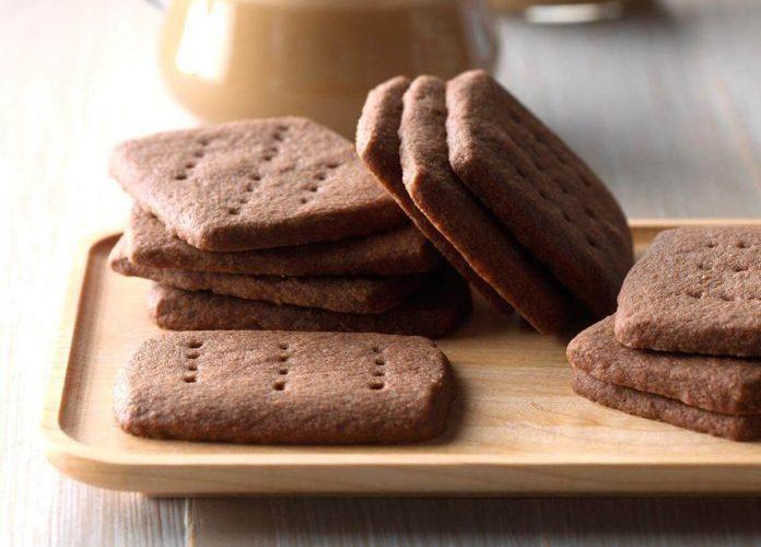 Shortbreads chocolatés