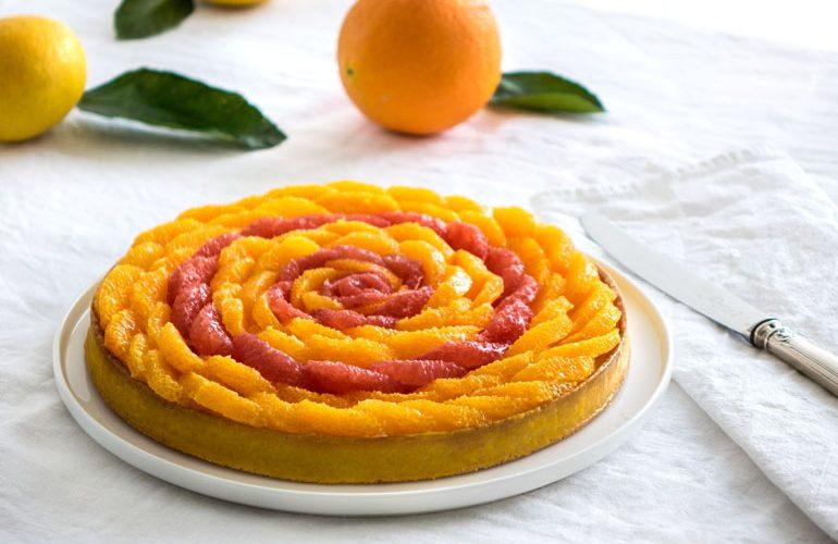 Tartelettes sucre blanc et zeste d'orange