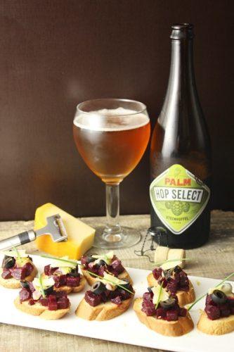 Rencontre des bières PALM avec le Gouda de Hollande du Nord orchestrée par le Chef Viki Geunes