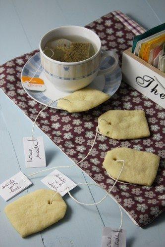 Petits sablés au thym pour accompagner le thé…