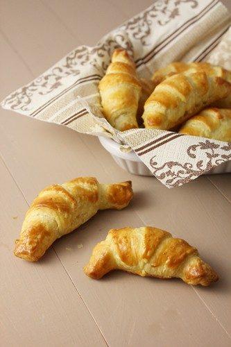 Minis croissants fourrés express