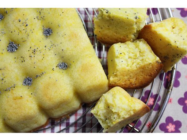 Cake au potiron et graines de pavot