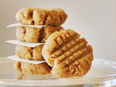 Cookies à la pâte de cacahuètes – Peanut Butter Cookies