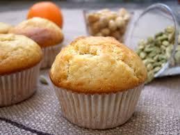 Muffins orange-cardamome