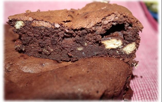 25ème Ronde Interblogs – Moelleux chocolat et petits beurre
