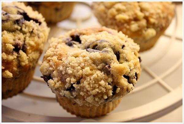 17ème Ronde interblogs – Recette muffins aux myrtilles