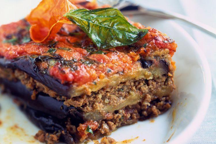 Lasagne d'aubergine à la bolognaise
