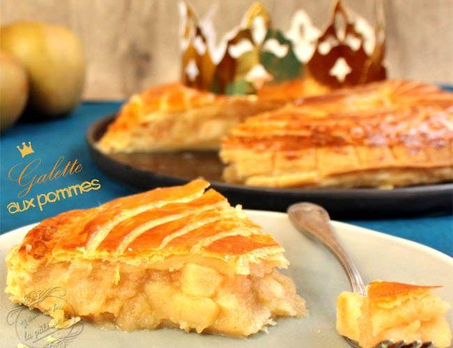 Epiphanie: Galette des rois aux pommes