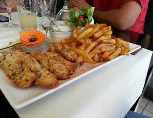 Aiguillettes de poulet aux céréales