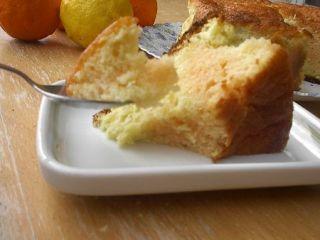 Cake mousseline aux agrumes